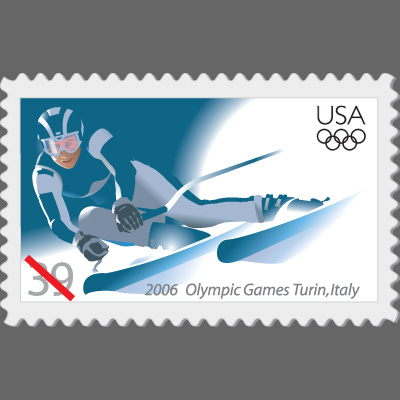 USPS 2006 Olympics Stamp